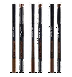 Dual volume brow pencil
